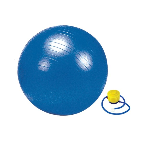 Nivia Anti Resitant Ball 65 Cm with Foot Pump