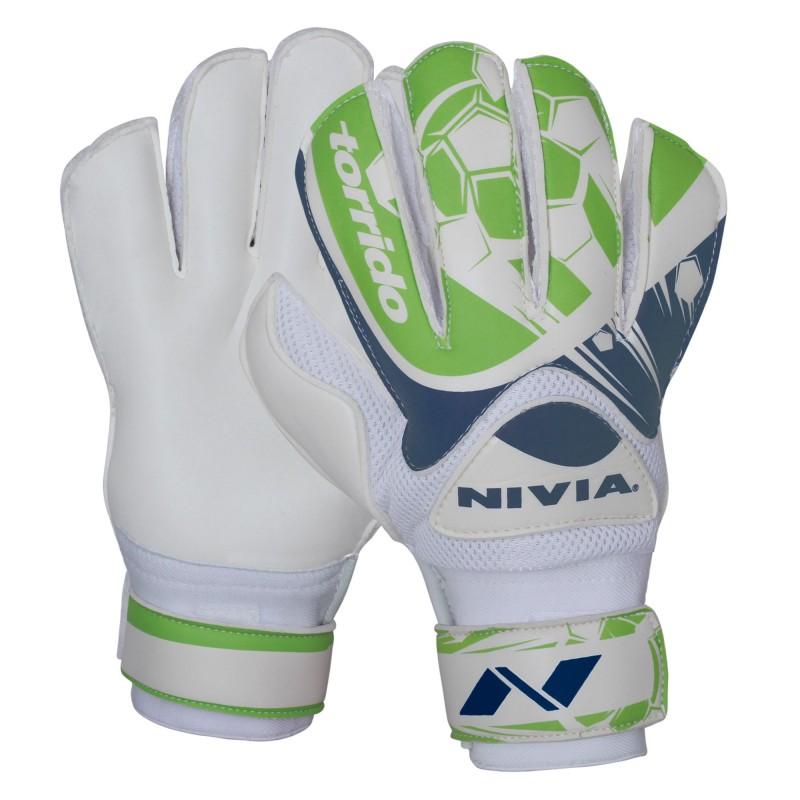 4d1463370cd Buy Nivia Torrido Goalkeeping Gloves Medium Online at Best Price on  SportsGEO