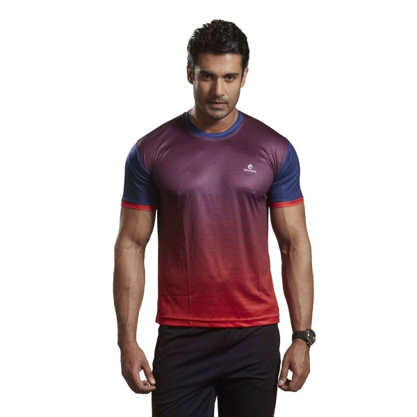 Omtex Active Wear Tshirts Red