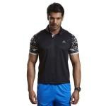 Omtex Active Wear Tshirts Black