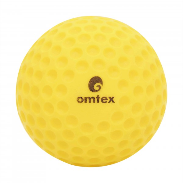 Omtex Dimple Ball (Yellow) (Standard Weight)