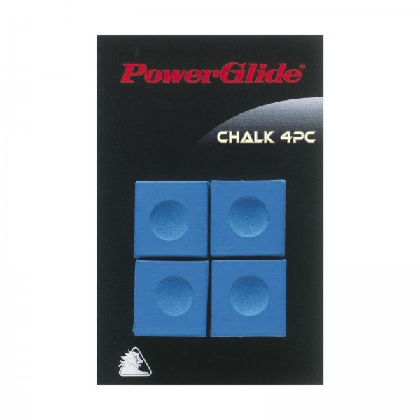 Power Glide Blue Snooker / Pool Chalks