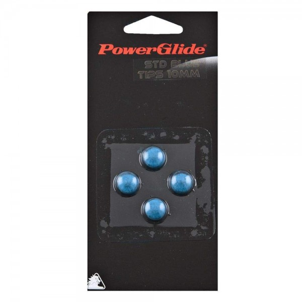 Power Glide Blue (10 mm) Snooker / Pool Tips