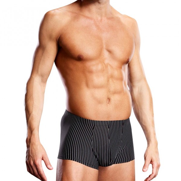 Blueline Performance Microfiber Pinstripe Trunk Sports Brief