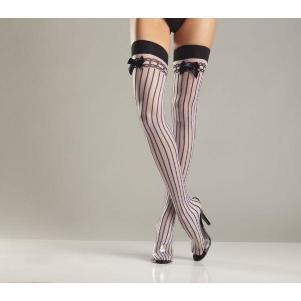 Bewicked Spandex Sheer Sports Stockings