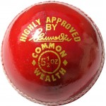 RS Robinson Common Wealth Cricket Ball (Red)