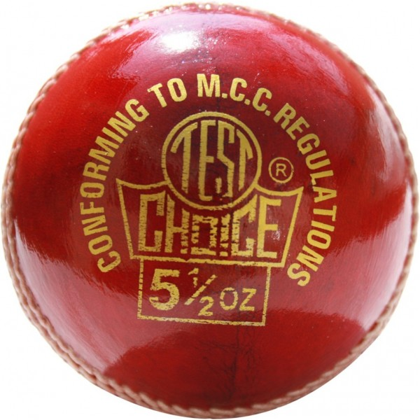RS Robinson Test Choice Cricket Ball (Red)