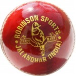 RS Robinson Test Choice Cricket Ball (Red, Pack of 6)