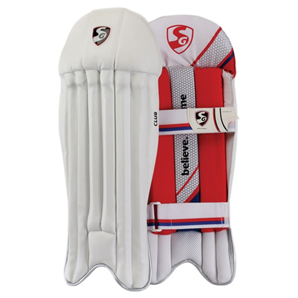 SG Club Cricket Wicket Keeping Leg Guards
