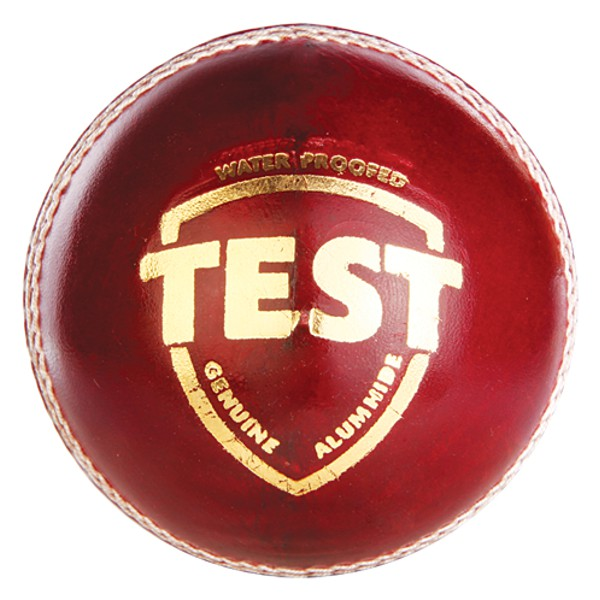 SG Test Red Cricket Leather Ball
