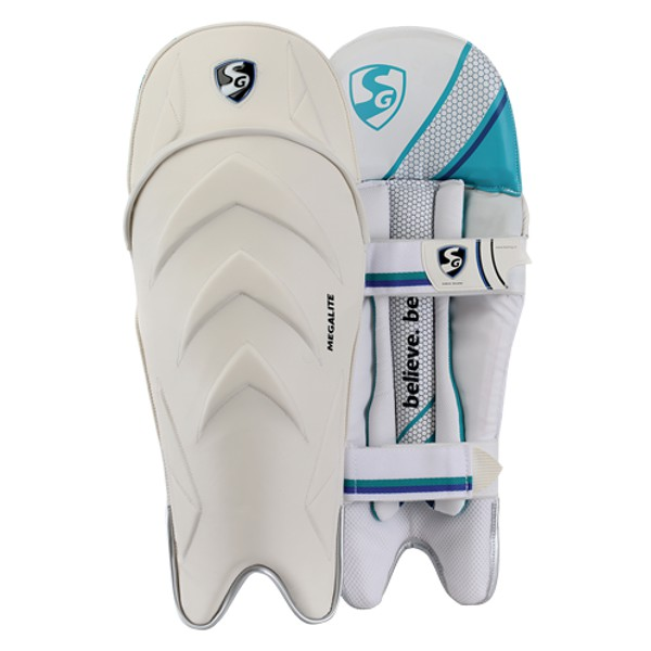 SG Megalite Cricket Wicket Keeping Leg Guards