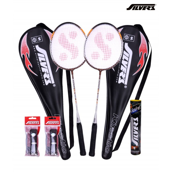 Silvers Kinetic Badminton Combo 4