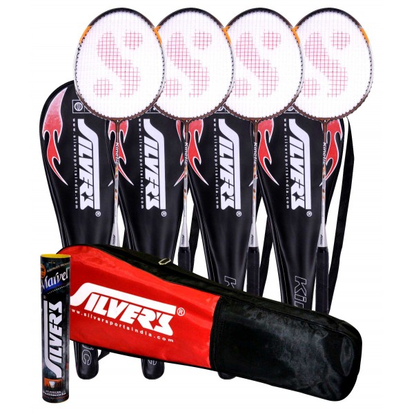 Silvers Kinetic Badminton Combo 5