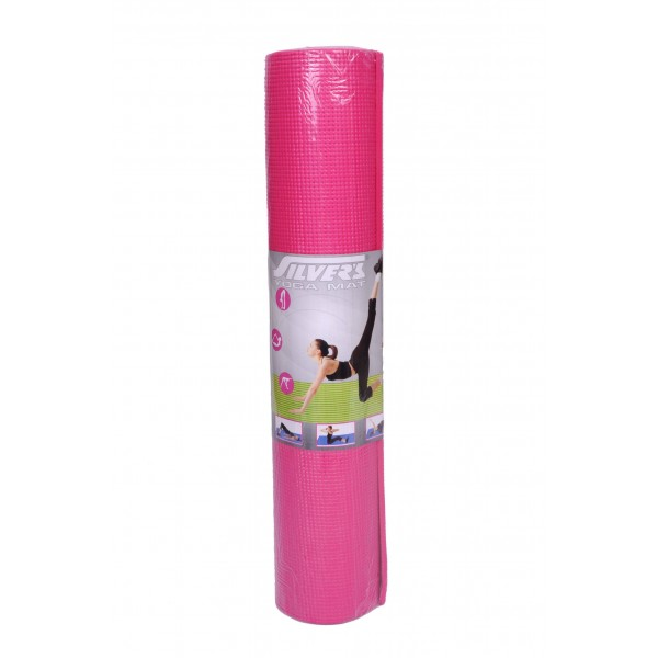 Silvers Yoga Mat (4MM) with Cover