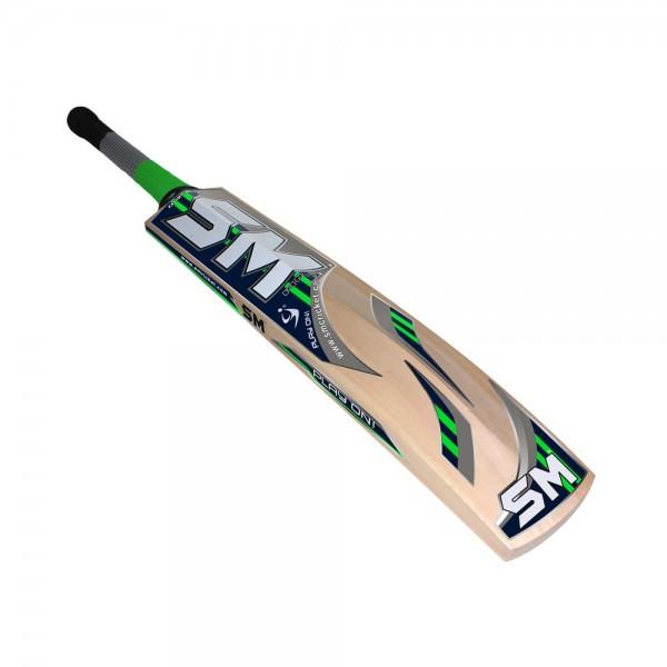 SM Black Buster Kashmir Willow Cricket Bat (SH)
