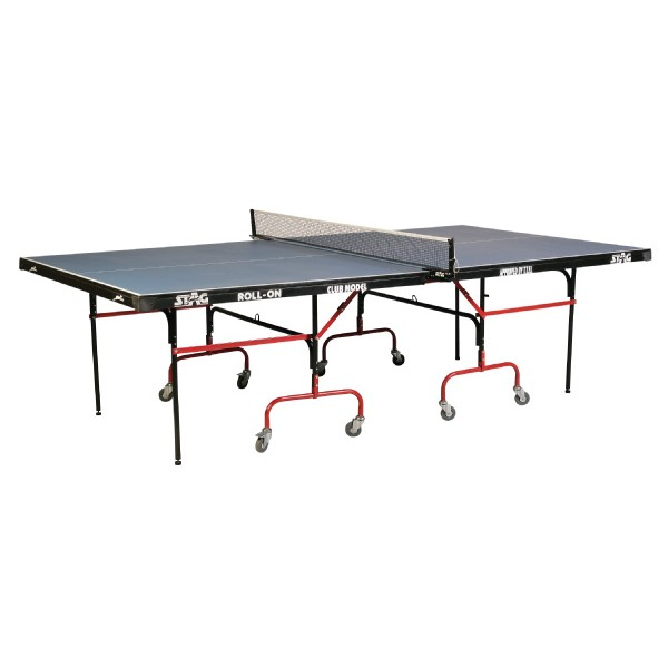STAG Club with 75 mm Wheels & Levelers 18 mm Top Table Tennis Table