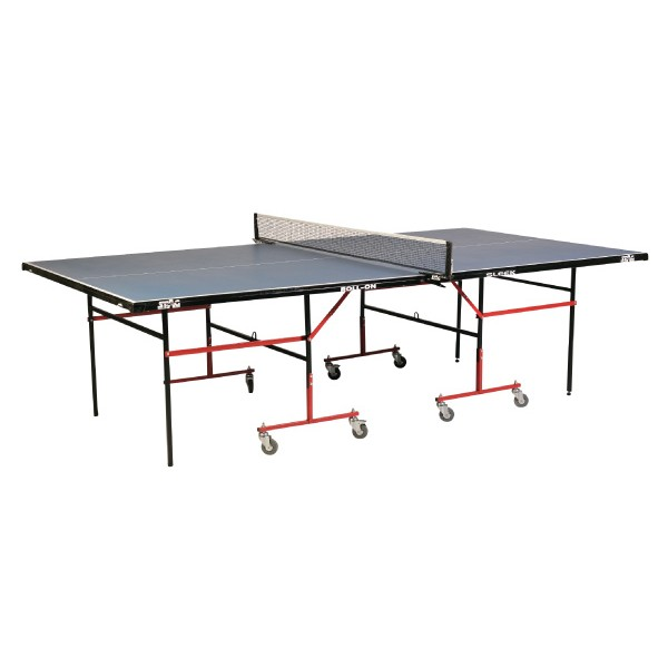 STAG Sleek Model with 16 mm Top 75 mm Wheels Table Tennis Table