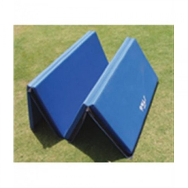 STAG Foldable Mat H.D Poly Foam for Gym/ School 2Mtr X 1Mtr X 50mm