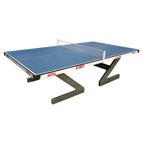 STAG Ultimate Weather Proof Outdoor Table with 18 mm Top Weather Proof Table Tennis Table
