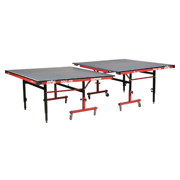 STAG CTTA Adjustable Height 18 mm Top 75 mm Wheels Table Tennis Table