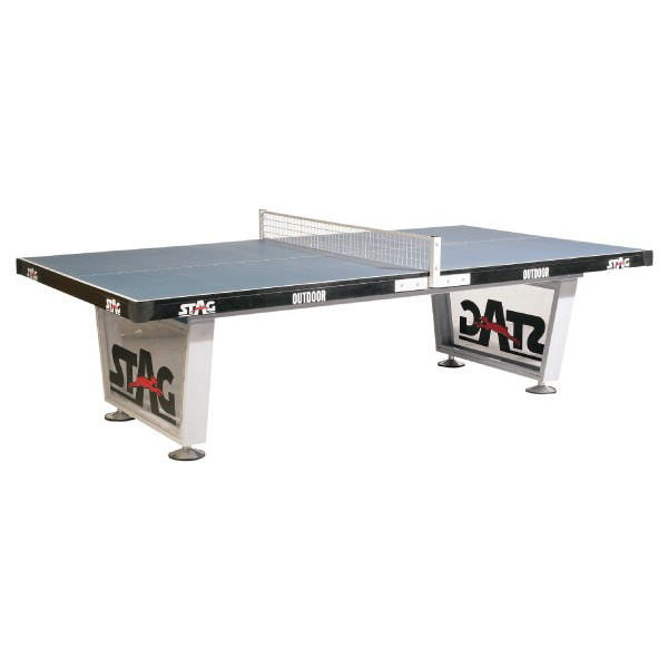 STAG Premium Outdoor Strong & Sturdy 12 mm Compreg Top Weather Proof Table Tennis Table