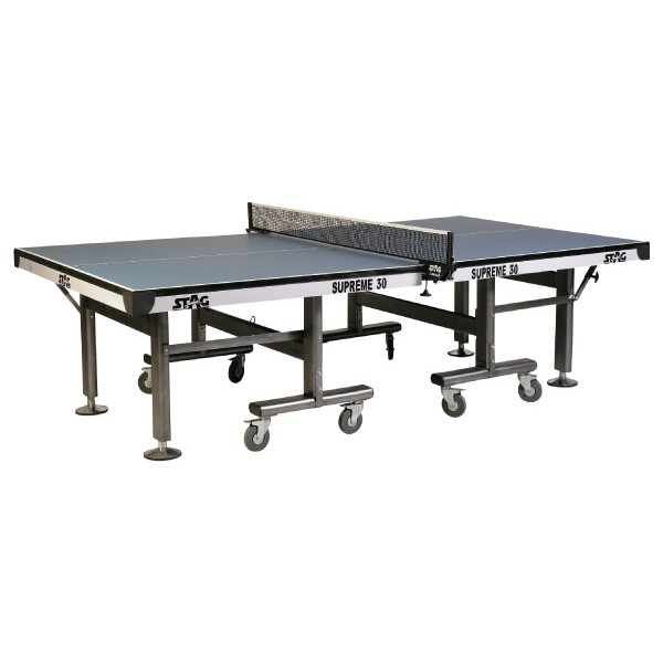 STAG Supreme Super Deluxe 125mm Wheels Table Tennis Table
