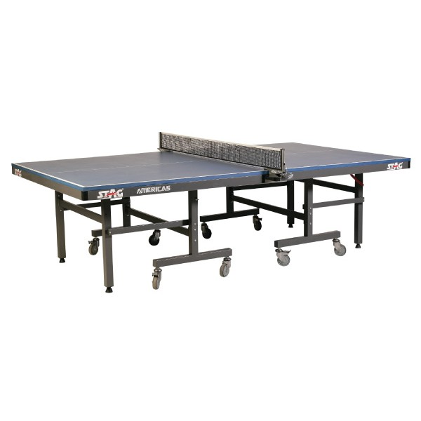 STAG Americas Strong & Sturdy I.T.T.F. Approved 100 mm Wheels Table Tennis Table
