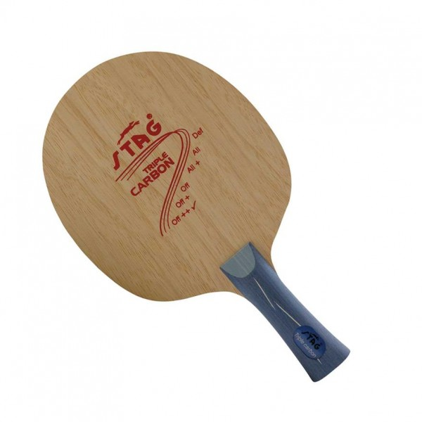 STAG Tripple Carbon Table Tennis Blade