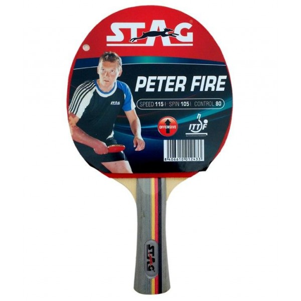 STAG Peter Fire Table Tennis Racket