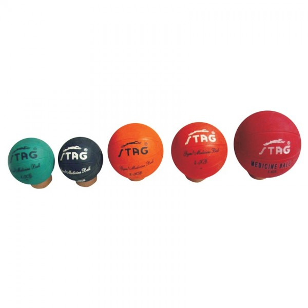 STAG Medicine Bouncing Gym Ball Rubber Additional Kg After1 Kg. (Per Kg)