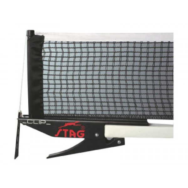STAG Clip Table Tennis Post with Net (Per Pair)