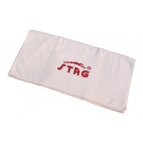 "STAG Towel 100% Cotton Size 27"" X 54"" (White)"