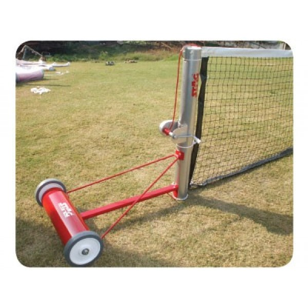 STAG Lawn Tennis Post Aluminium Dx 70 Kg. Wt. On Each Side (Per Pair)