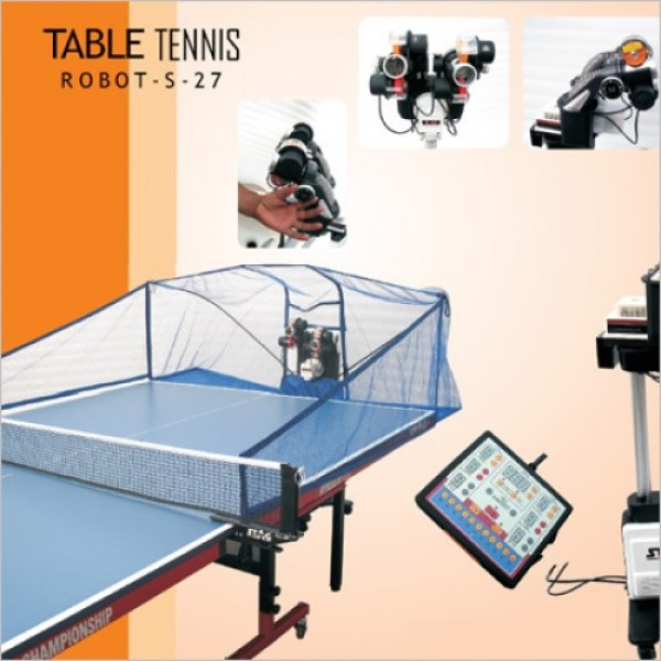 STAG Premium Table Tennis Robot Double Headed