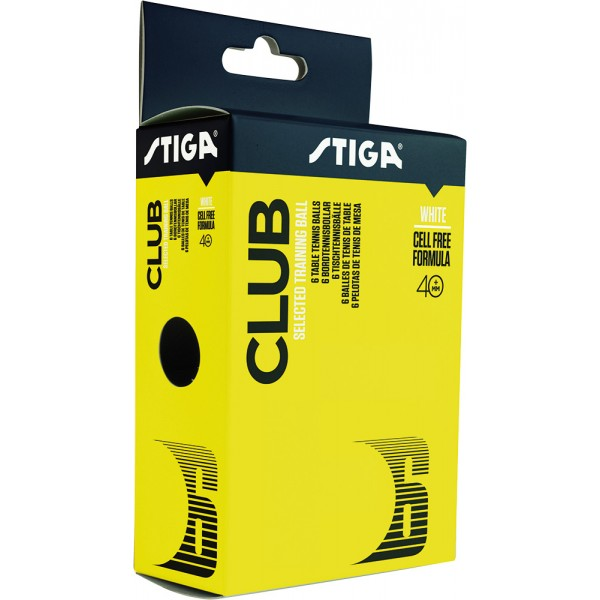 Stiga Club 40+ Table Tennis Balls