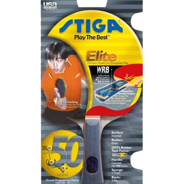 Stiga Elite Table Tennis Bat