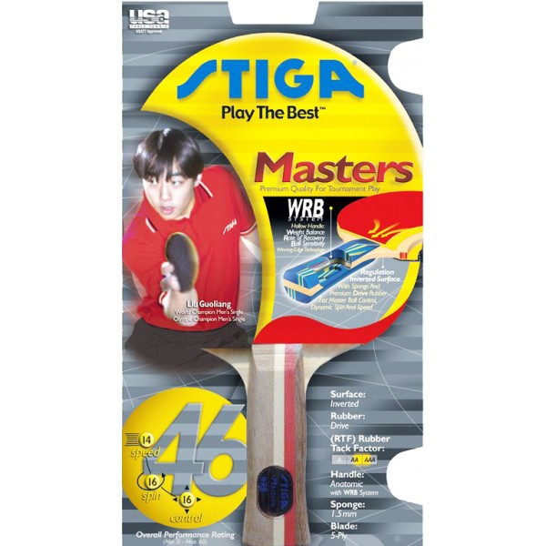 Stiga Masters Table Tennis Bat