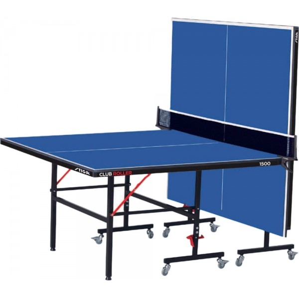 Stiga Club Roller Table Tennis Table