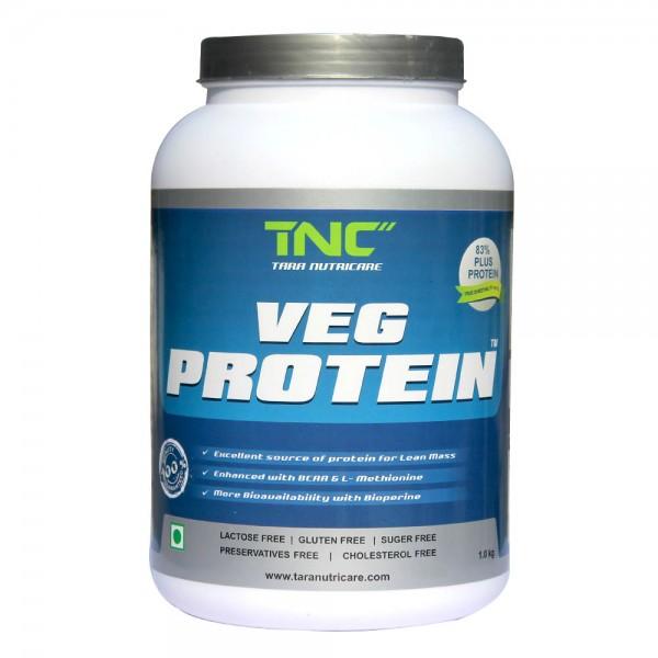 Tara Veg Protein TVPV1 (1 Kg Vanilla)