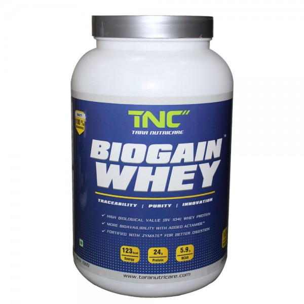 Tara Biogain Whey TBWS1 (1 Kg Strawberry)