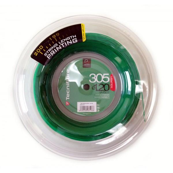 Tecnifibre Synth Squash Green 1.2 Pu Reelof 200M 6102 Squash String