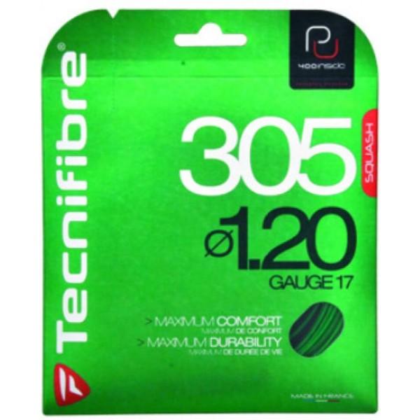 Tecnifibre 305 Plus Noir 1.20 (PU) Synthetic Squash String