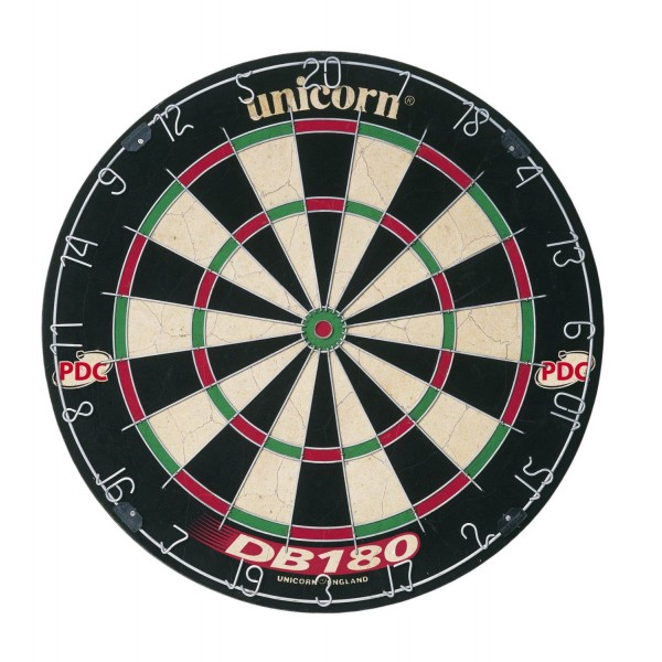 Unicorn DB 180 Bristle Dartboard