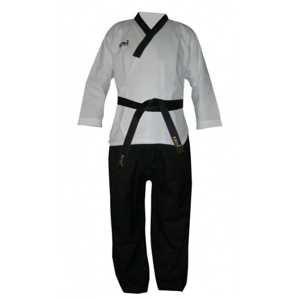 USI 417PM Poomsae (Demo) Taekwondo Uniform (White/Black)
