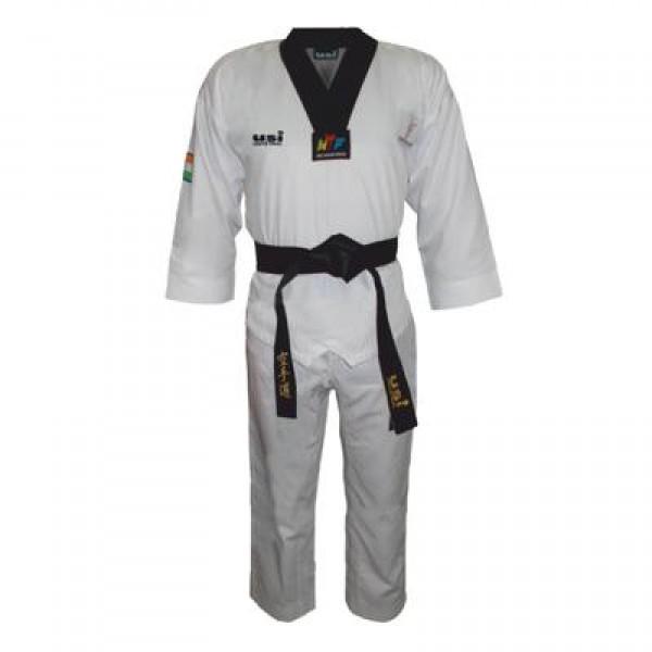 USI 417TNV Taekwondo Novice Uniform (White/Black)