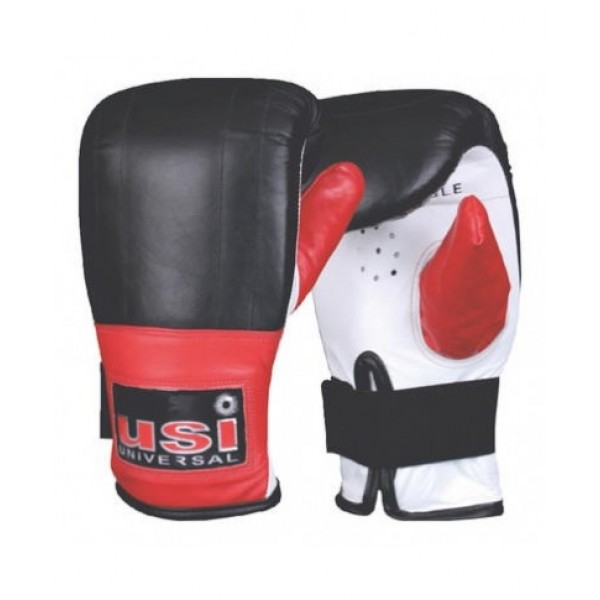 USI 617EL Immortal Reliance Boxing Gloves (Black/Red)