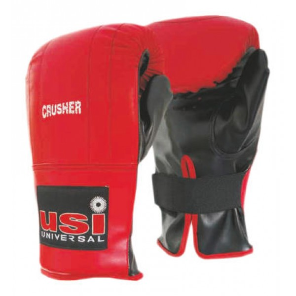 USI 617EPU Crusher Boxing Punching Gloves (Red/Black)