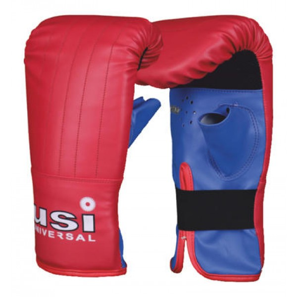 USI 617LT Bouncer Boxing Gloves (Red/Blue)