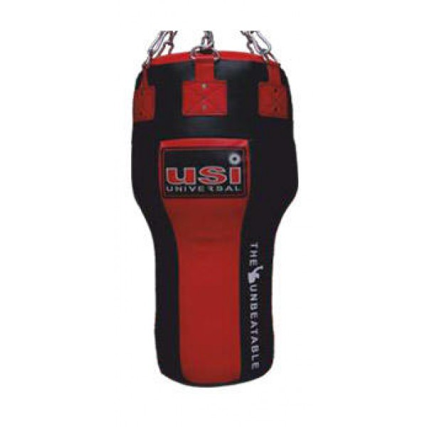USI 626ABL Immortal Leather Boxing Angle Bag (Red/Black)