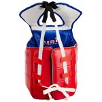 USI Taekwondo Competition Chest Guard (Red/Blue)